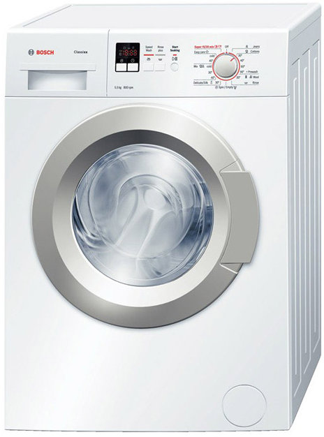 Best price on Bosch WAX16160IN 5.5 Kg Front Load Washing Machine in India