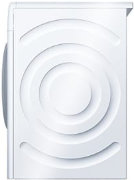Best price on Bosch WTA74101ZA Air Vented Galvanised Drum Dryer (6 Kg, White) - Back in India