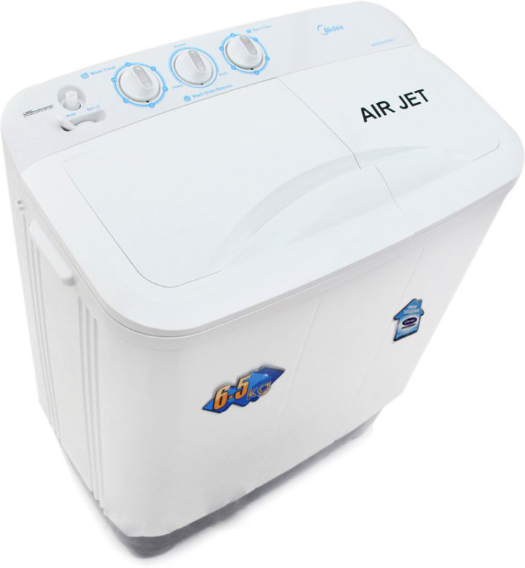 Best price on Carrier Midea MWMSA065M02 6.5 Kg Semi Automatic Washing Machine in India