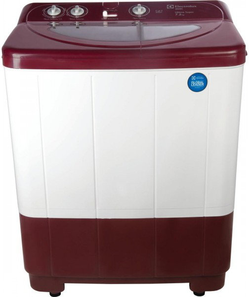 Best price on Electrolux WM ES72USMR Semi-Automatic Washing Machine in India