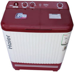 Best price on Haier XPB72-0714DX Semi-automatic Top-loading Washing Machine (7.2 Kg, Sparkle Red) in India