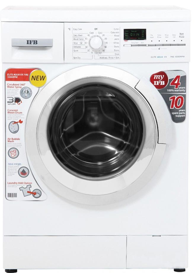 Best price on IFB Elite Aqua VX 7 Kg Fully Automatic Washing Machine in India