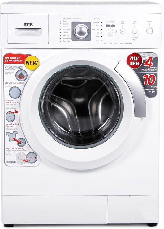 Best price on IFB Eva Aqua VX 5.5 Kg Fully-Automatic Washing Machine in India