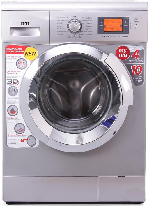Best price on IFB Senator Aqua SX 8KG Automatic 8 kg Washing Machine in India