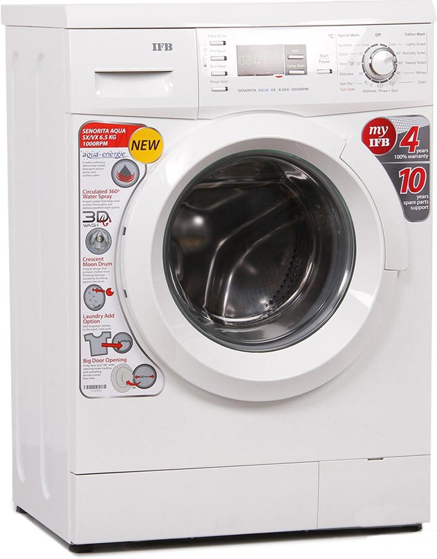 Best price on IFB Senorita Aqua VX 6.5 Kg Front Load Washing Machine in India