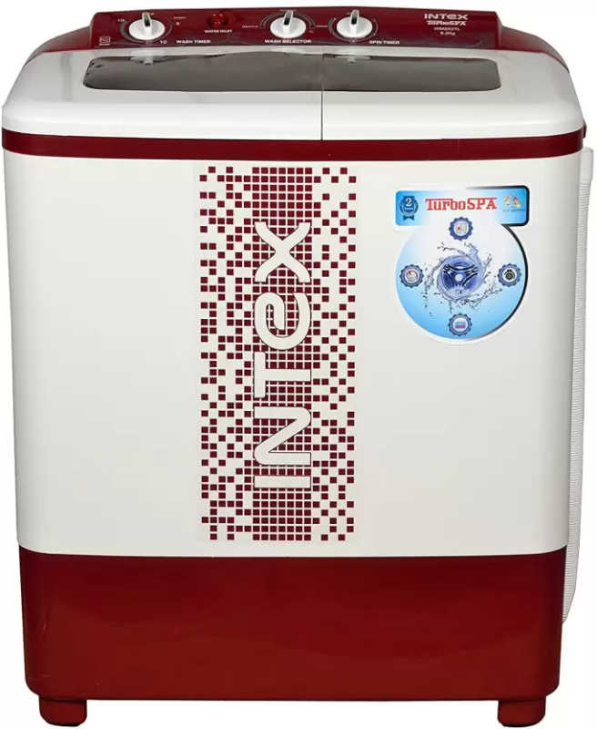 Best price on Intex WMS62 6.2 Kg Semi Automatic Top Load Washing Machine in India