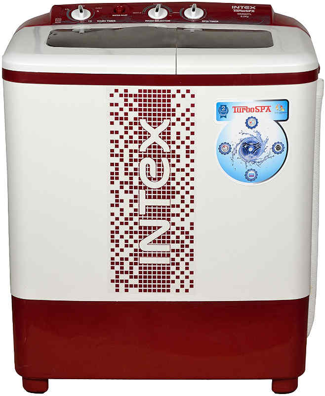 Best price on Intex WMS62TL 6.2 Kg Semi Automatic Top Load Washing Machine in India