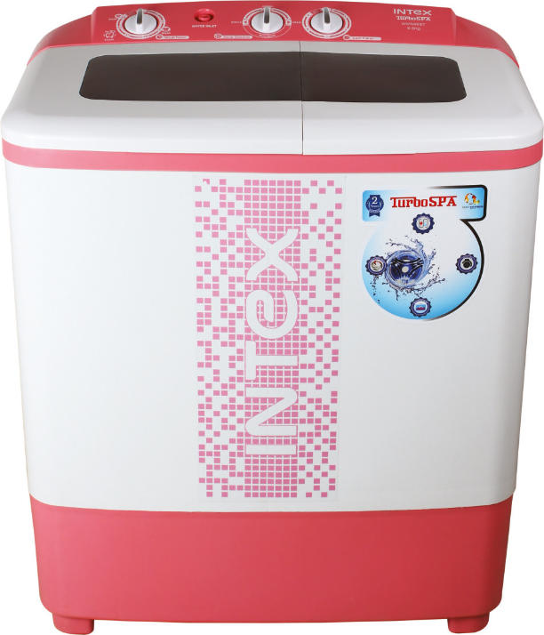 Best price on Intex WMS65ST 6.5 Kg Semi-Automatic Washing Machine in India