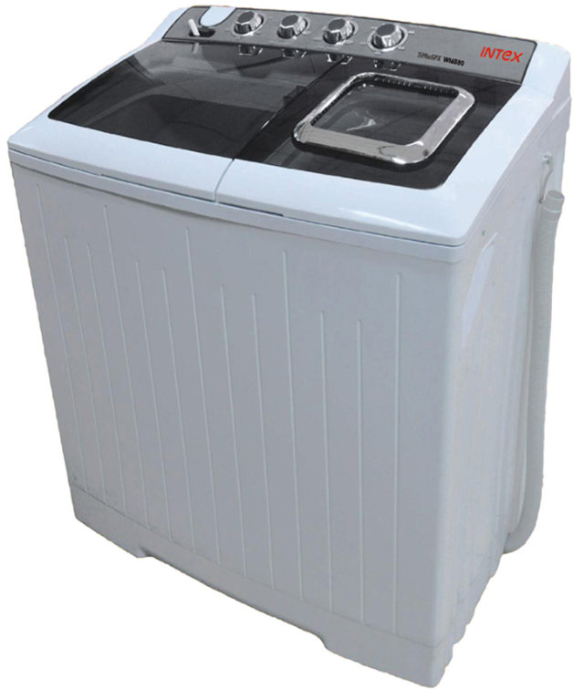 Best price on Intex WMS80 Semi Automatic 8 Kg Top Load Washing Machine in India