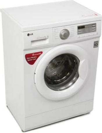 Best price on LG F10B8NDL2 Fully Automatic Front Load 6 Kg Washing Machine in India