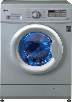 Best price on LG F10B8NDL25 Fully Automatic Front Load 6 Kg Washing Machine in India