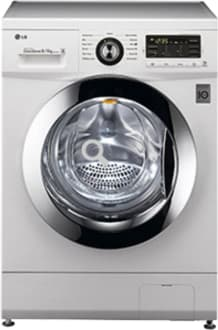 Best price on LG F1296ADP23 Fully-automatic Front-loading Washing Machine (8 Kg, Blue White) in India