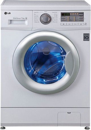 Best price on LG F12B8EDP21 7.5 Kg Fully Automatic Washing Machine in India