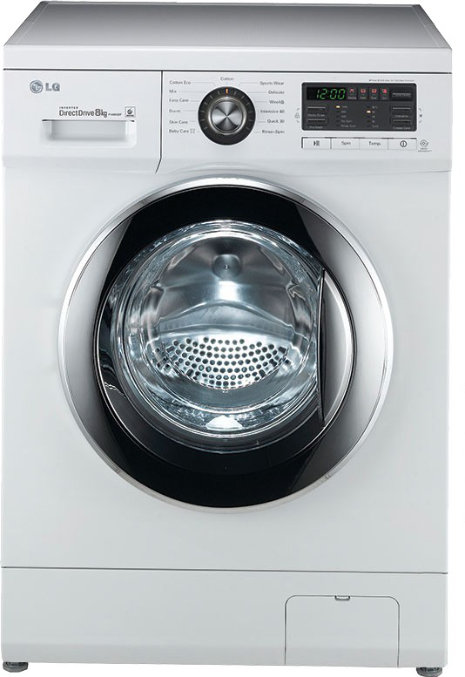 Best price on LG F1496TDP23 8 Kg Fully Automatic Front Load Washing Machine in India
