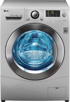 Best price on LG F14A8TDP25 Front Load 8 Kg Washing Machine in India