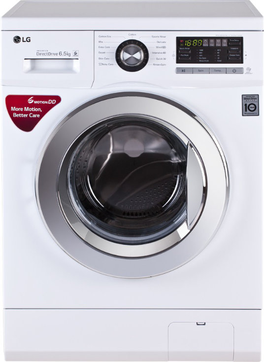 Best price on LG FH096WDL23 6.5 Kg Fully Automatic Washing Machine in India