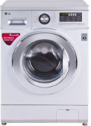 Best price on LG FH096WDL24 6.5 Kg Fully Automatic Washing Machine - Front in India