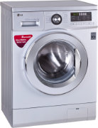 Best price on LG FH096WDL24 6.5 Kg Fully Automatic Washing Machine - Side in India