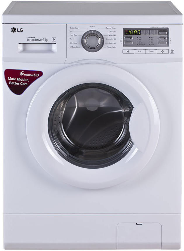 Lg Fh0b8ndl2 6 Kg F A Washing Machine Price Specifications