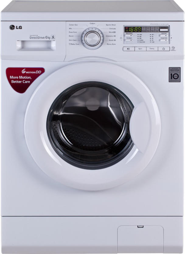 Best price on LG FH0B8NDL22 6 Kg Fully Automatic Washing Machine in India