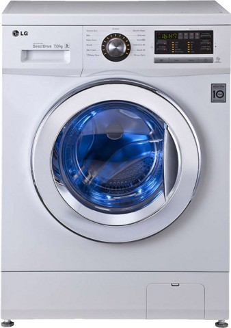 Best price on LG FH296HDL23 7 Kg Front Load Washing Machine in India