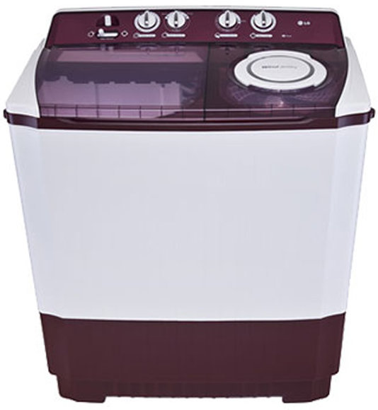 Best price on LG P1515R3S 9.5 Kg Semi Automatic Washing Machine in India