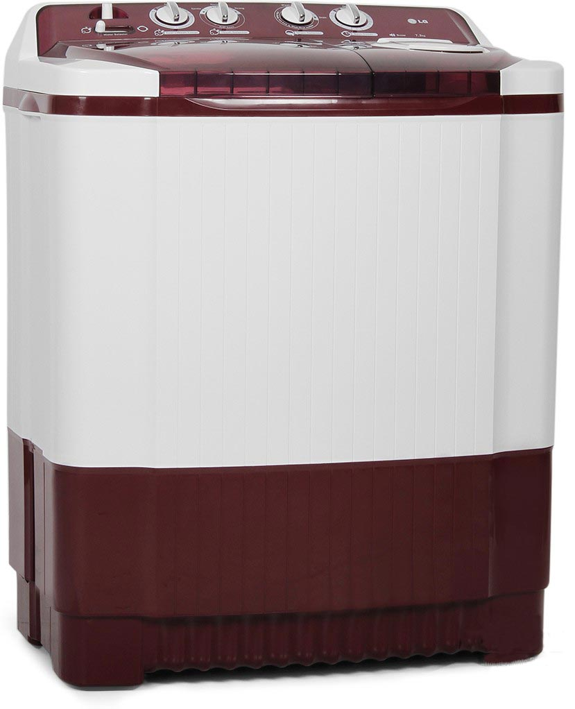 Best price on LG P8239R3S(BG) 7.2 Kg Semi Automatic Top Loading Washing Machine in India