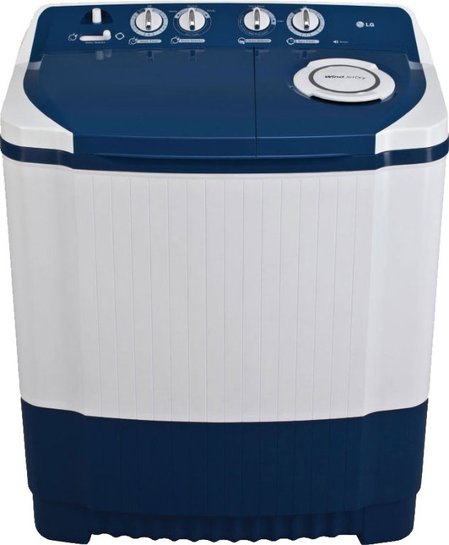 Best price on LG P8540R3F 7.5 Kg Semi Automatic Washing Machine in India