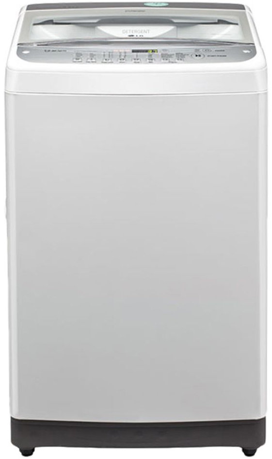 Best price on LG T7577TEEL 6.5 Kg Fully Automatic Washing Machine in India