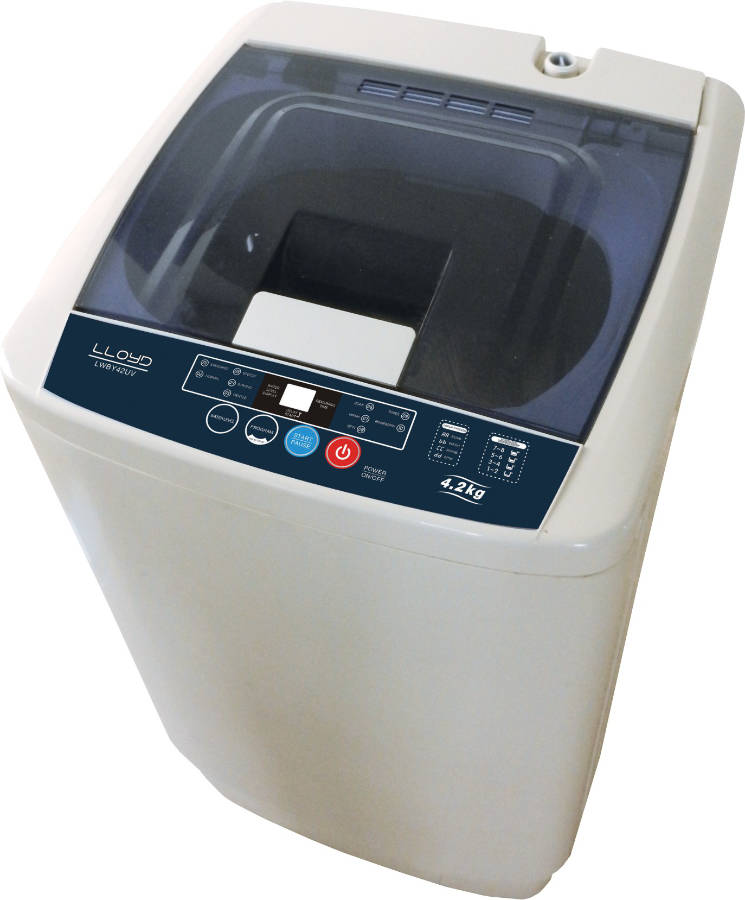 Best price on Lloyd LWBY42UV 4.2 Kg Fully Automatic Washing Machine in India