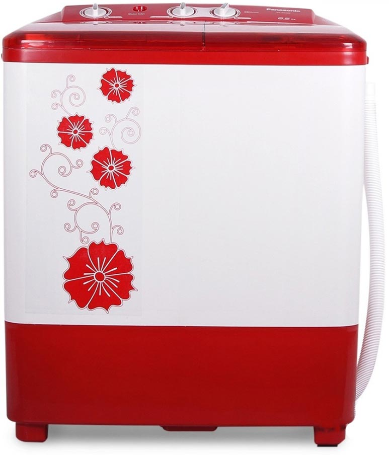 Best price on Panasonic NA-W65B2RRB 6.5 Kg Semi-Automatic Washing Machine in India