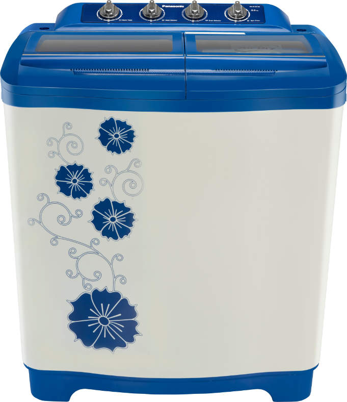 Best price on Panasonic NA-W80H2ARB 8 Kg Semi Automatic Washing Machine in India