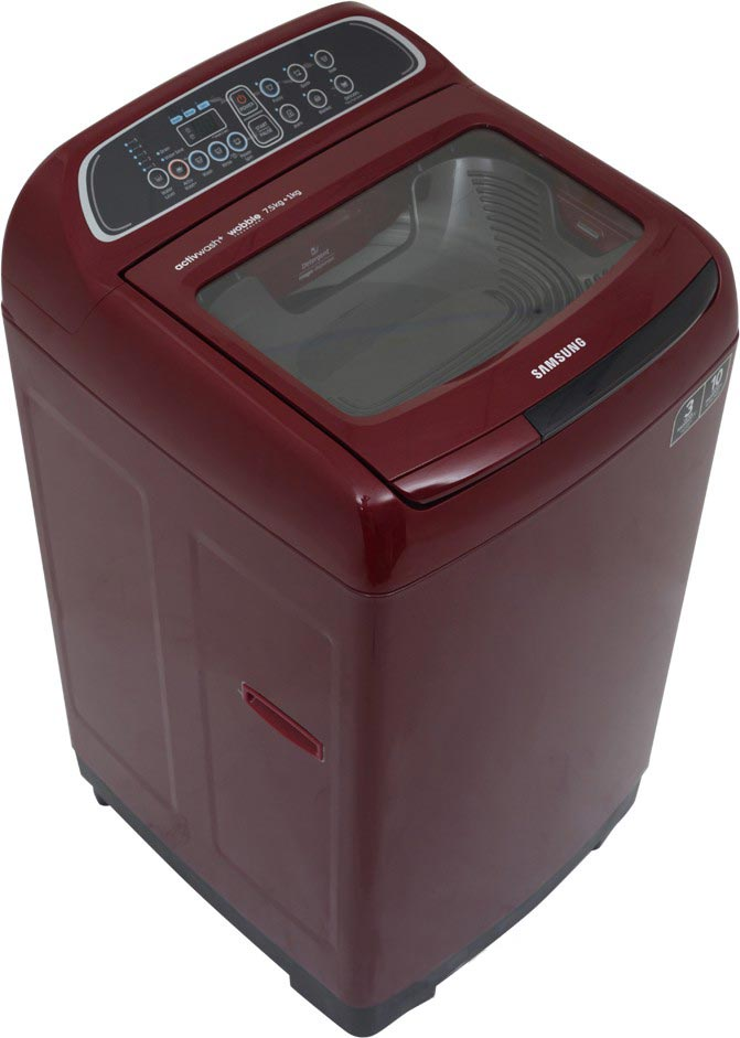 Best price on Samsung WA75K4000HP/TL 7.5 Kg Fully Automatic Washing Machine in India