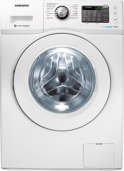 Best price on Samsung WF600U0BHWQ/TL 6 Kg Fully Automatic Washing Machine in India