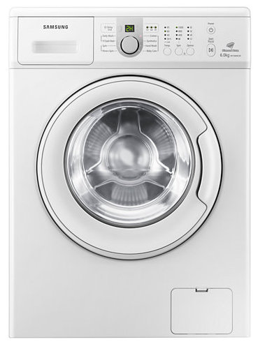 Best price on Samsung WF60F2H0N0W/TL 6 Kg Front Loading Washing Machine in India