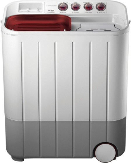 Best price on Samsung WT657QPNDPGXTL 6.5 Kg Semi-automatic Twin-tub Washing Machine in India