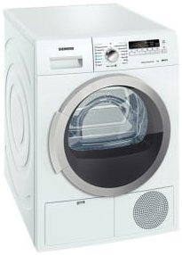 Best price on Siemens WT46B201IN Condensed 8 Kg Font-loading Tumble Dryer in India