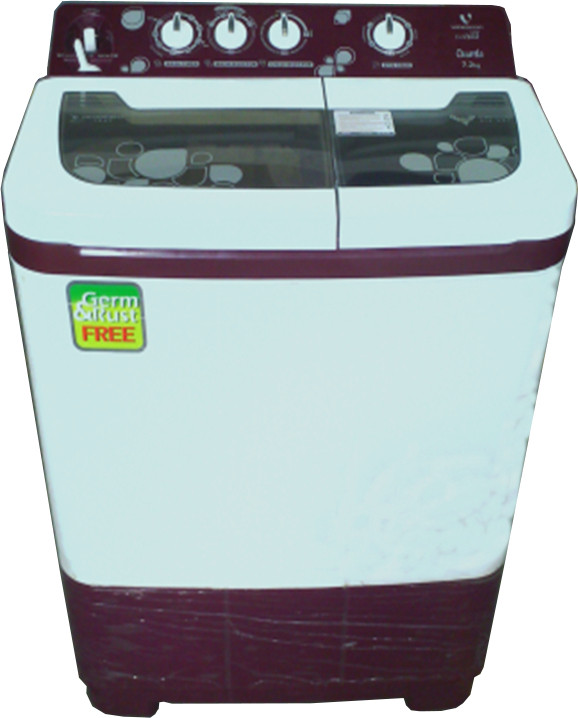 Best price on Videocon 7.3 Kg VS73J22 Semi Automatic Washing Machine in India