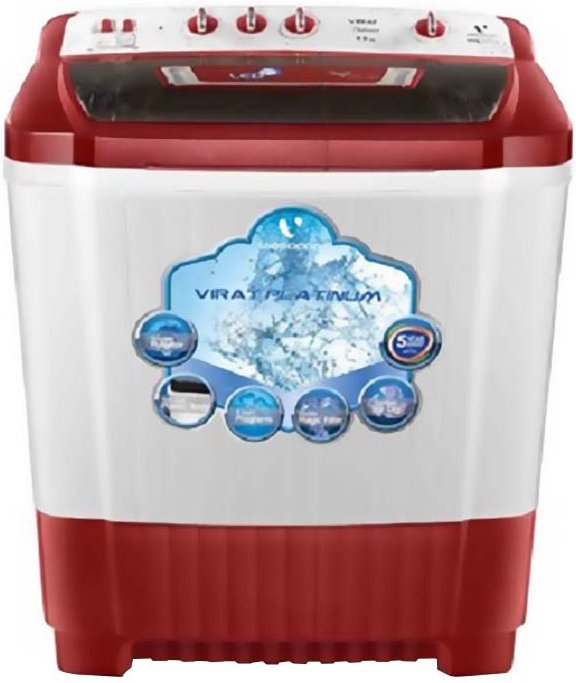 Best price on Videocon VS90P20-DRK 9 Kg Semi Automatic Washing Machine in India