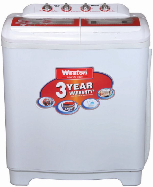 Best price on Weston WMI-803 8 Kg Semi Automatic Washing Machine (WMI-803) in India