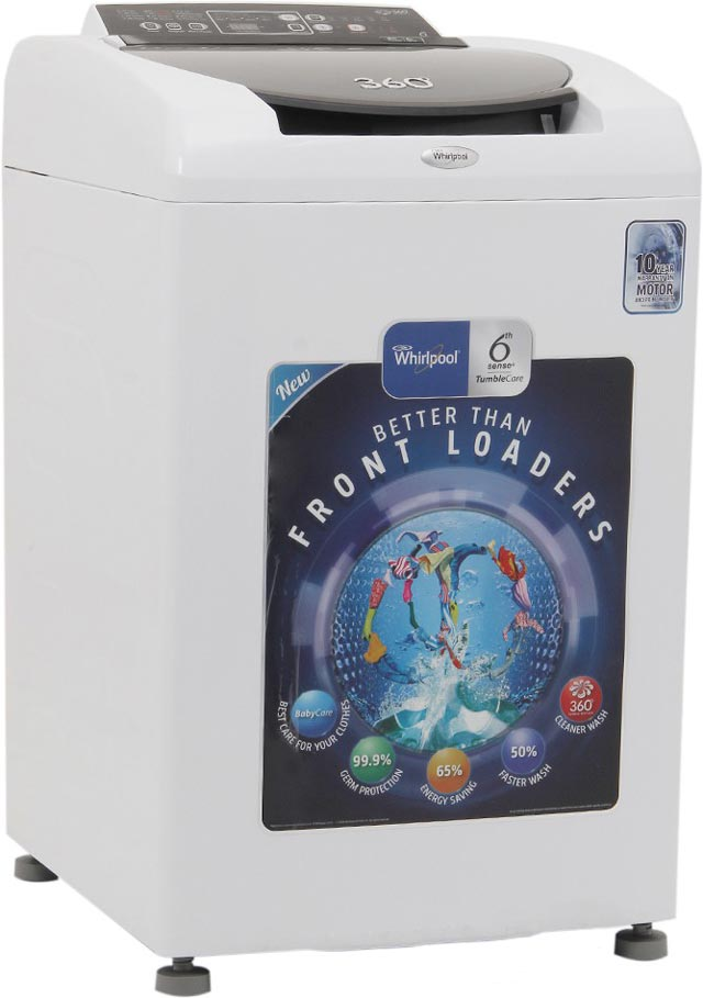 Best price on Whirlpool WS80H 360 Bloom Wash 8 Kg Automatic Washing Machine in India
